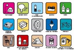 Déchetteries de la Métropole gratuite dans la limite de 2 tonnes par an et par foyer