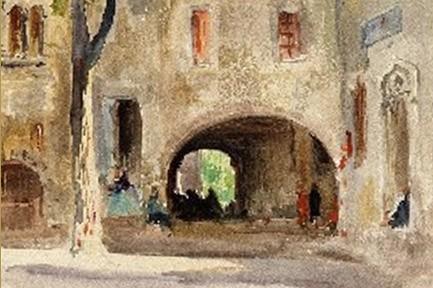 La route des peintres prolongée par des oeuvres de Mossa et Cahours