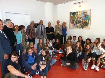 FRANTA fait le don d'une oeuvre au lycée Henri Matisse