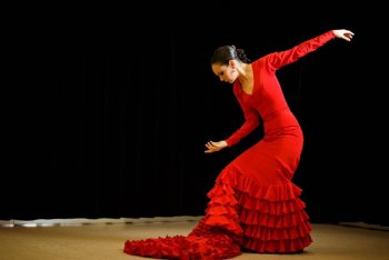 Cours de Flamenco au Centre Culturel par Samantha Alcon