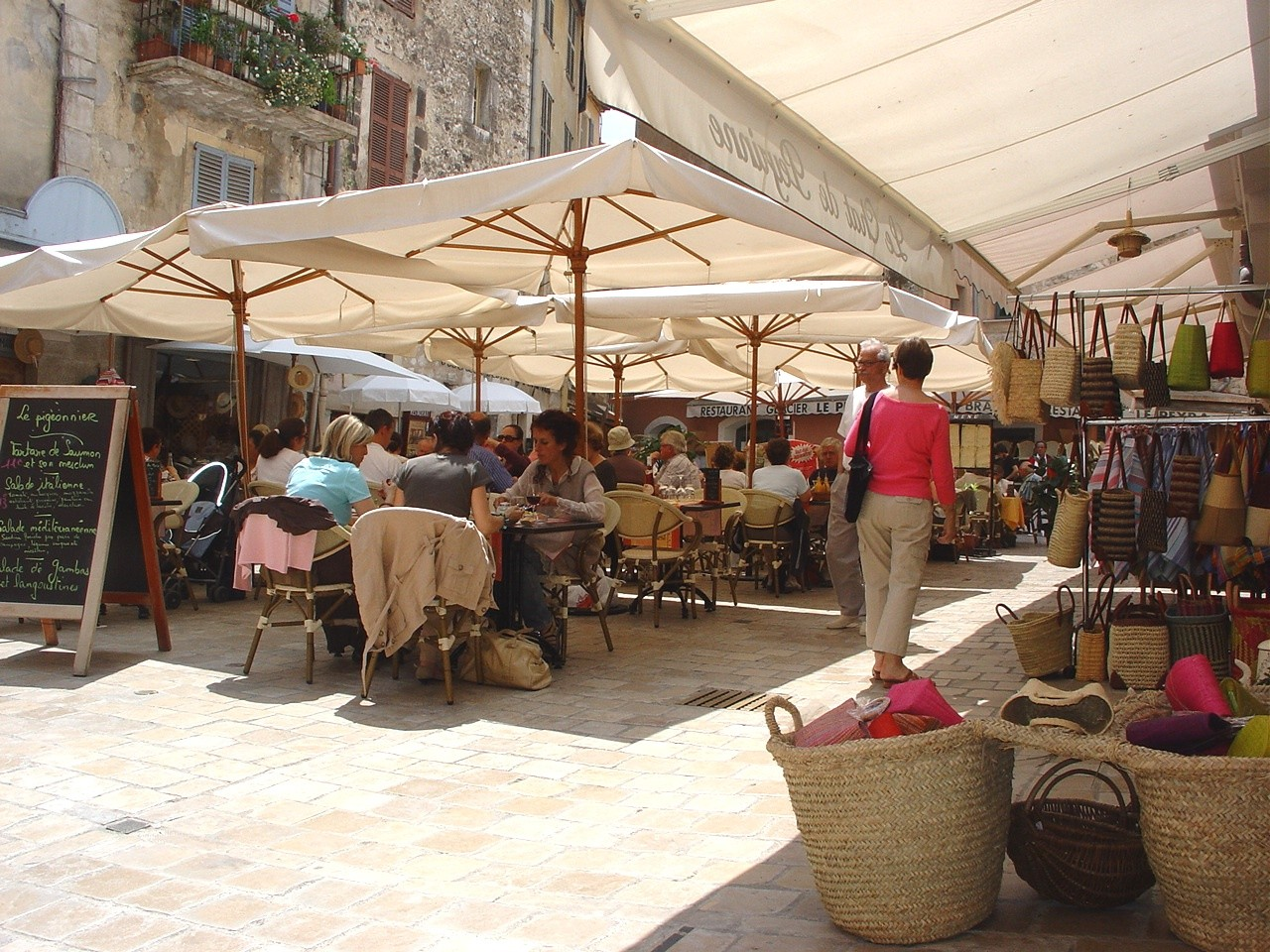 Cité historique piétonne