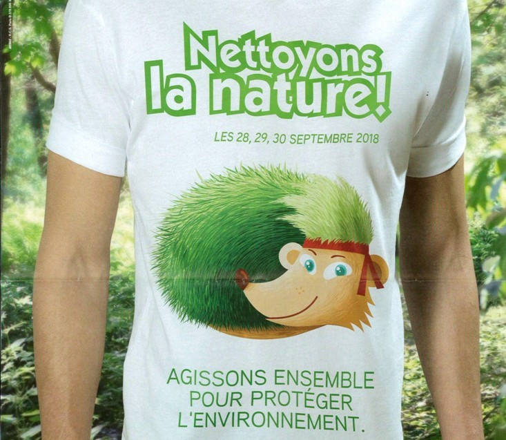 «Nettoyons la nature»
