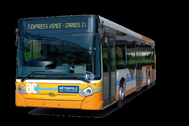 Ligne «T-Express Vence–Carros ZI» & Nouvel horaire du Bus 511 Vence-Grasse