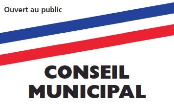 Conseil Municipal, lundi 25 mars 2019 à 15h