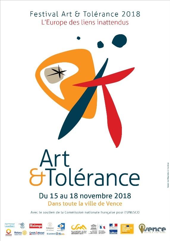 Festival Art & Tolérance 2018, «L'Europe des liens inattendus»