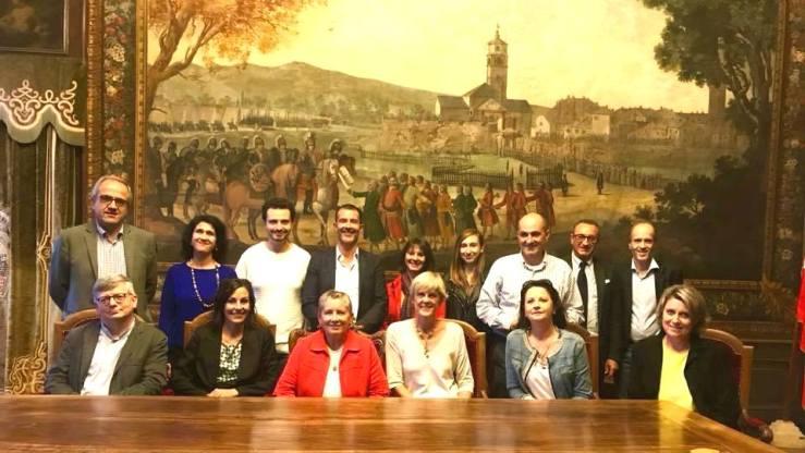Une délégation Vençoise à Cuneo pour des échanges accrus