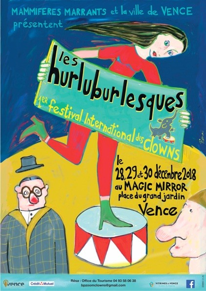1er Festival international des Clowns , Les Hurluburlesques