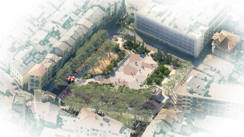 Un jardin en place du Grand-Jardin, la concertation est lancée