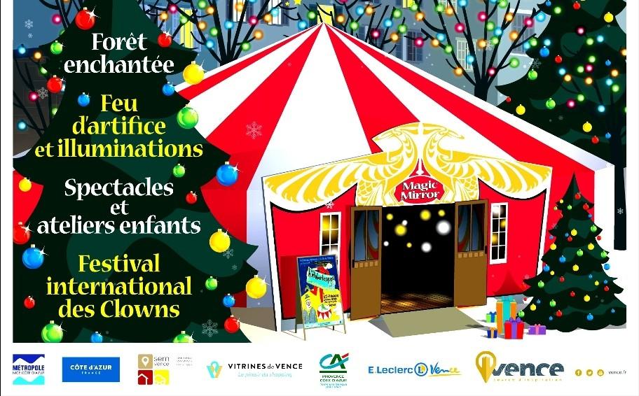 Noël à Vence commence dès le 1er décembre !