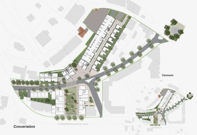 Concertation autour du projet d'aménagement du Quartier Chagall