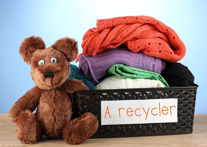Ne jetez pas vos textiles n'importe où, le Secours Populaire et l'Association Pacôme les recyclent