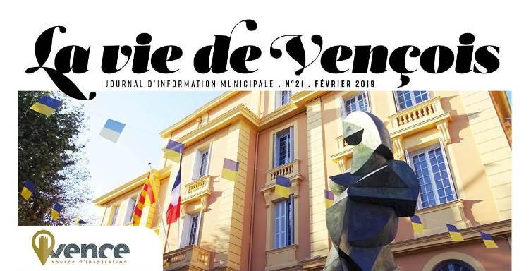 Le Journal La Vie de Vençois n°21 vient de paraitre