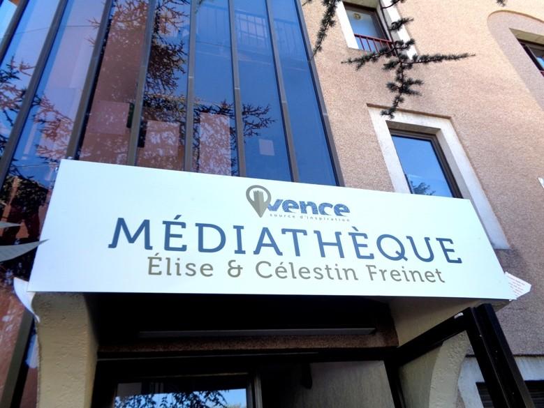 Vence offre un nom à sa Médiathèque