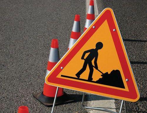 Confortement de l'ancienne route de Vence & du chemin des Moulins : travaux en cours
