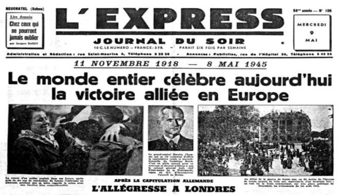 Commémorations du 8 mai 45