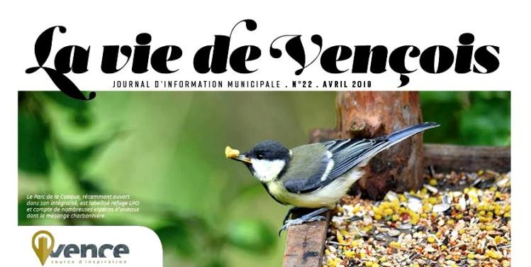 Le Journal La Vie de Vençois n°22 vient de paraitre