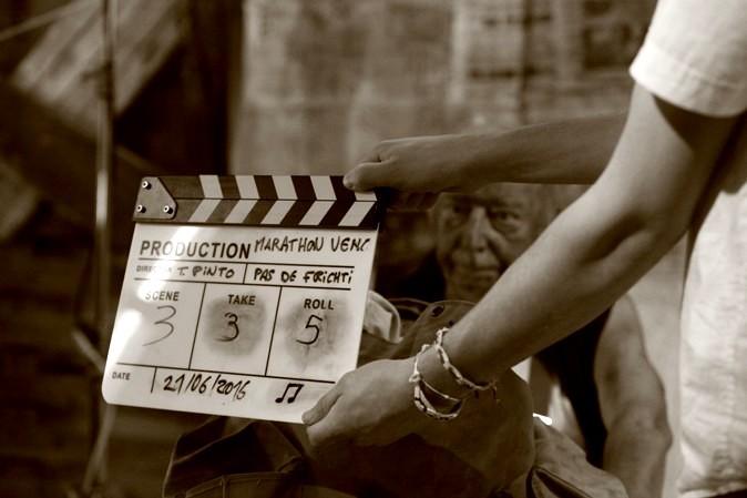 6ème Marathon du film: Ateliers Scénario, Story-board, tournage.