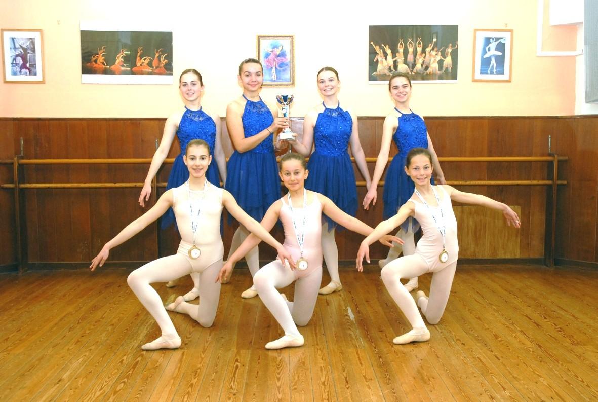 L'école de danse Gisèle Braquet se distingue