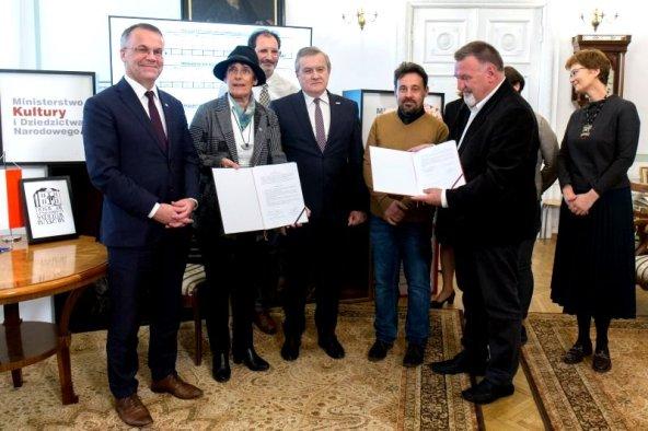 Accord de codirection du musée Gombrowicz entre Vence & Varsovie