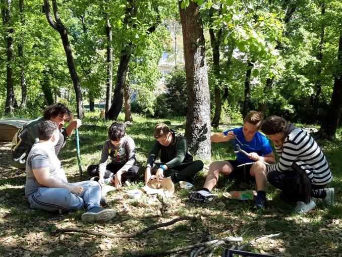 «A l'école du Parc : Petites fabriques de paysages»