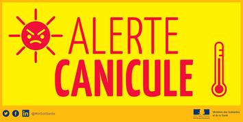 Canicule : alerte JAUNE