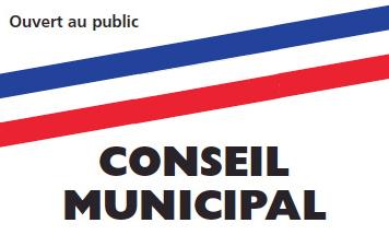 Conseil Municipal du 25 Novembre 2019