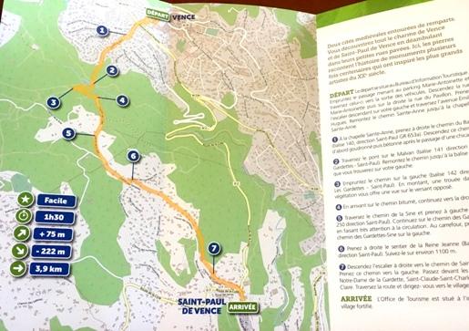 Sillonnez trois Communes du Pays Vençois avec les topoguides