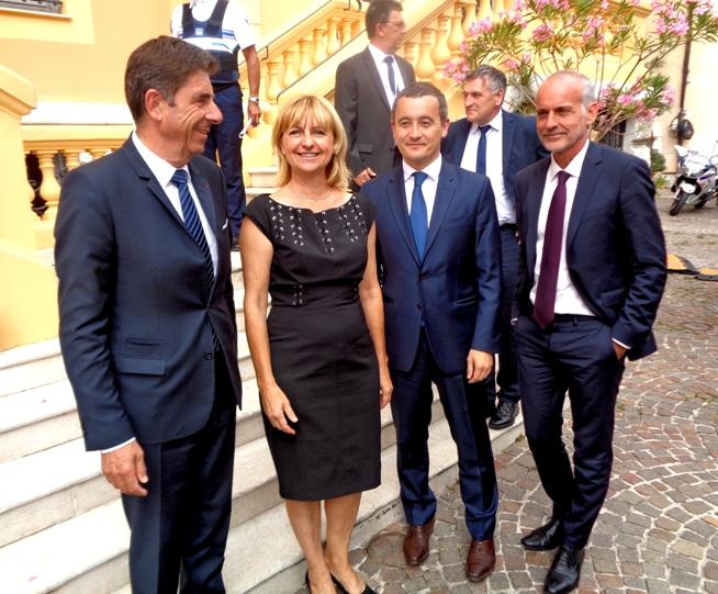 Le Ministre de l'action et des comptes publics accueilli à Vence