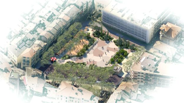 Aménagements paysagers du Grand-Jardin… dès le 28 août