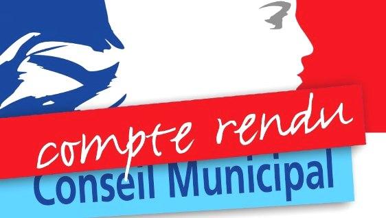 COMPTE-RENDUS DES CONSEILS MUNICIPAUX DE 2014 à 2019