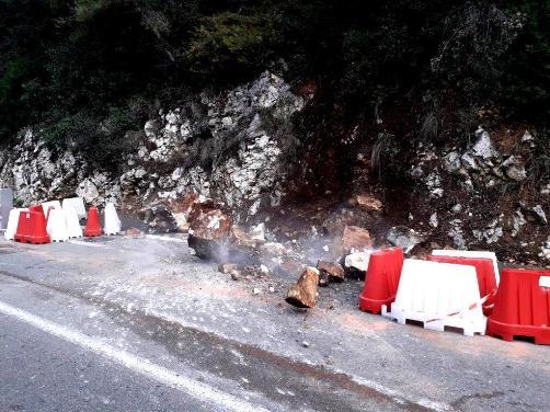 Les fortes pluies, sources de nombreux désordres à Vence