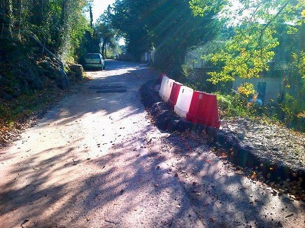 Intempéries: circulation alternée au Chemin du Pioulier