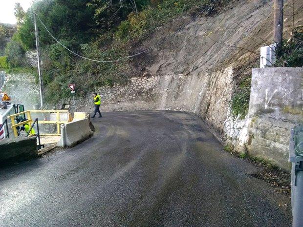Chemin du Baou des Noirs : travaux de sécurisation achevés
