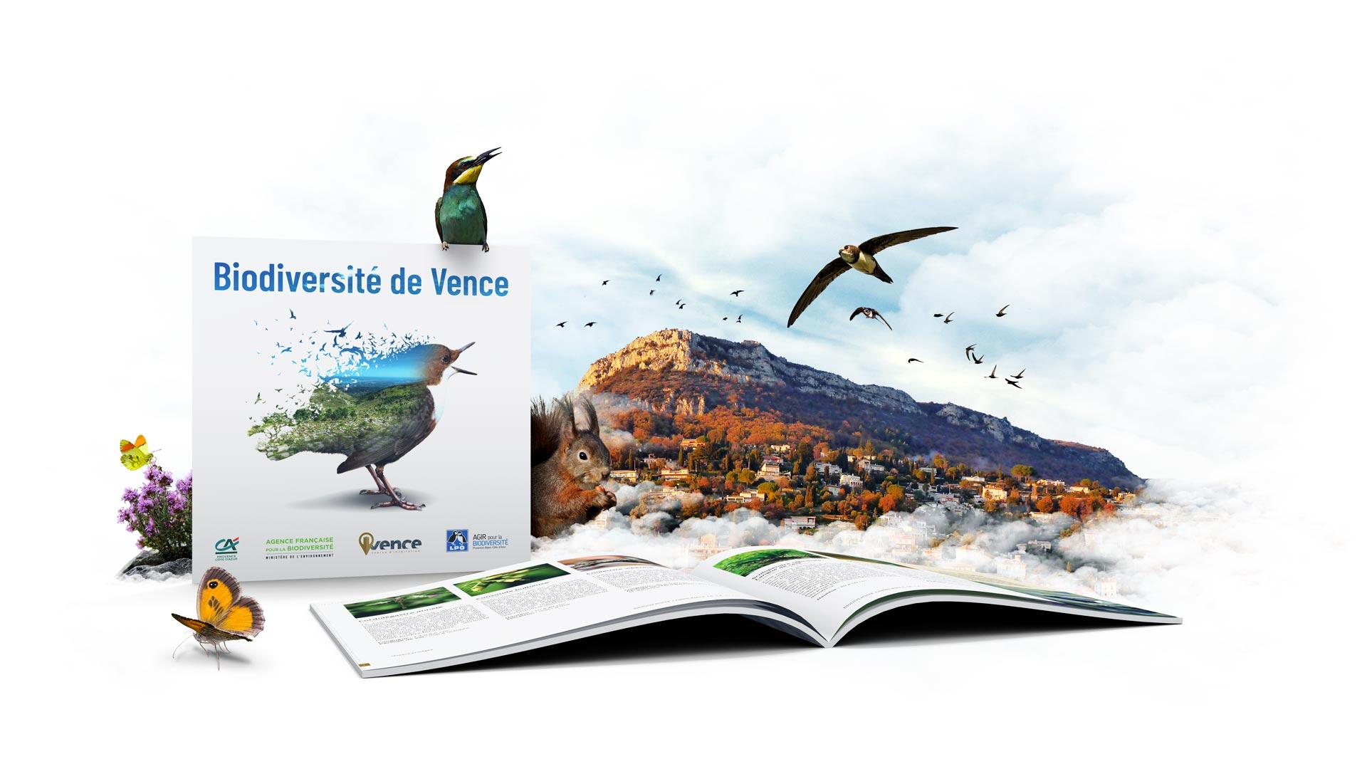 Vence édite son Atlas de la Biodiversité