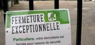 Déchetterie fermée, déchets verts à conserver chez soi