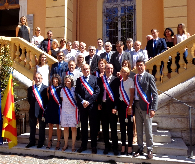 Régis Lebigre élu Maire de Vence