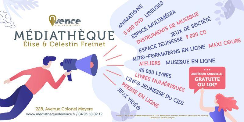La Médiathèque Freinet a rouvert