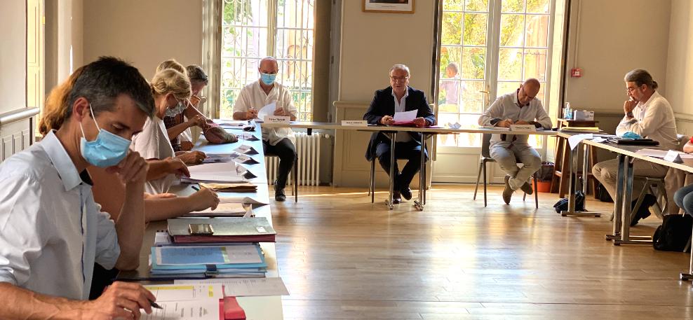 Première réunion du SIVOM en Mairie de Vence