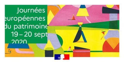 Journées européennes du Patrimoine 19 & 20 septembre