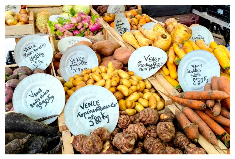 Promenades gastronomiques en terre Vençoise