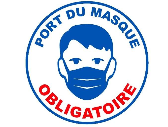 Port du masque obligatoire à Vence de 8h à 1h