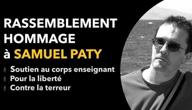 Vence rend hommage à Samuel Paty