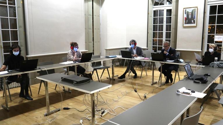 3ème Comité Covid en réunion Zoom