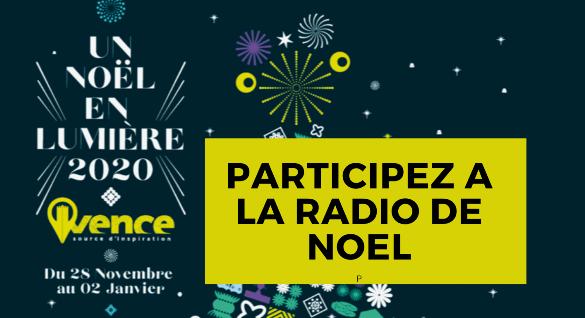 Participez à la radio de Noël jusqu'au 18 Décembre