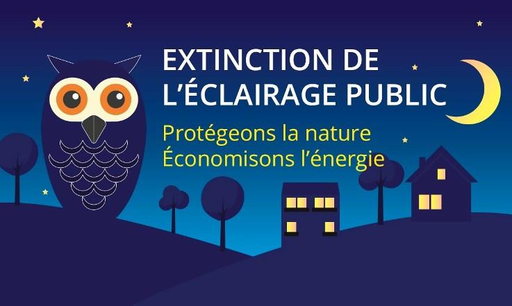 Vence éteint l'éclairage péri urbain de 23h à 5h & prend soin de la planète