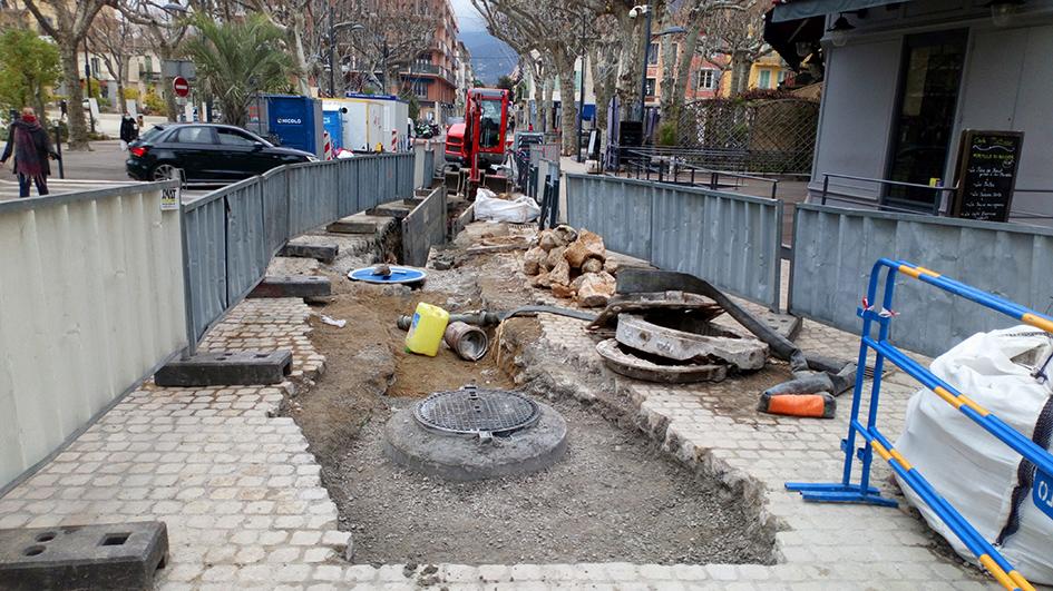 Grand Jardin-rue Funel:Le réseau d'assainissement mis aux normes
