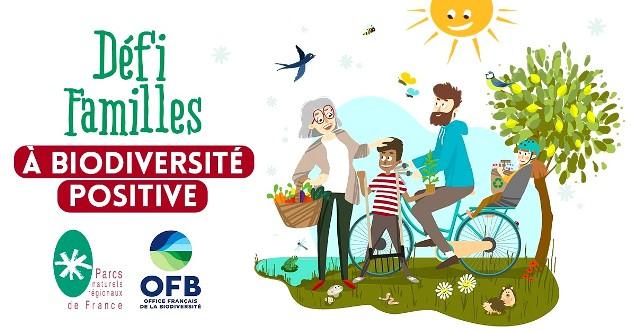«Défi Familles à biodiversité positive»