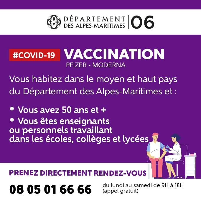 La vaccination s'accélère