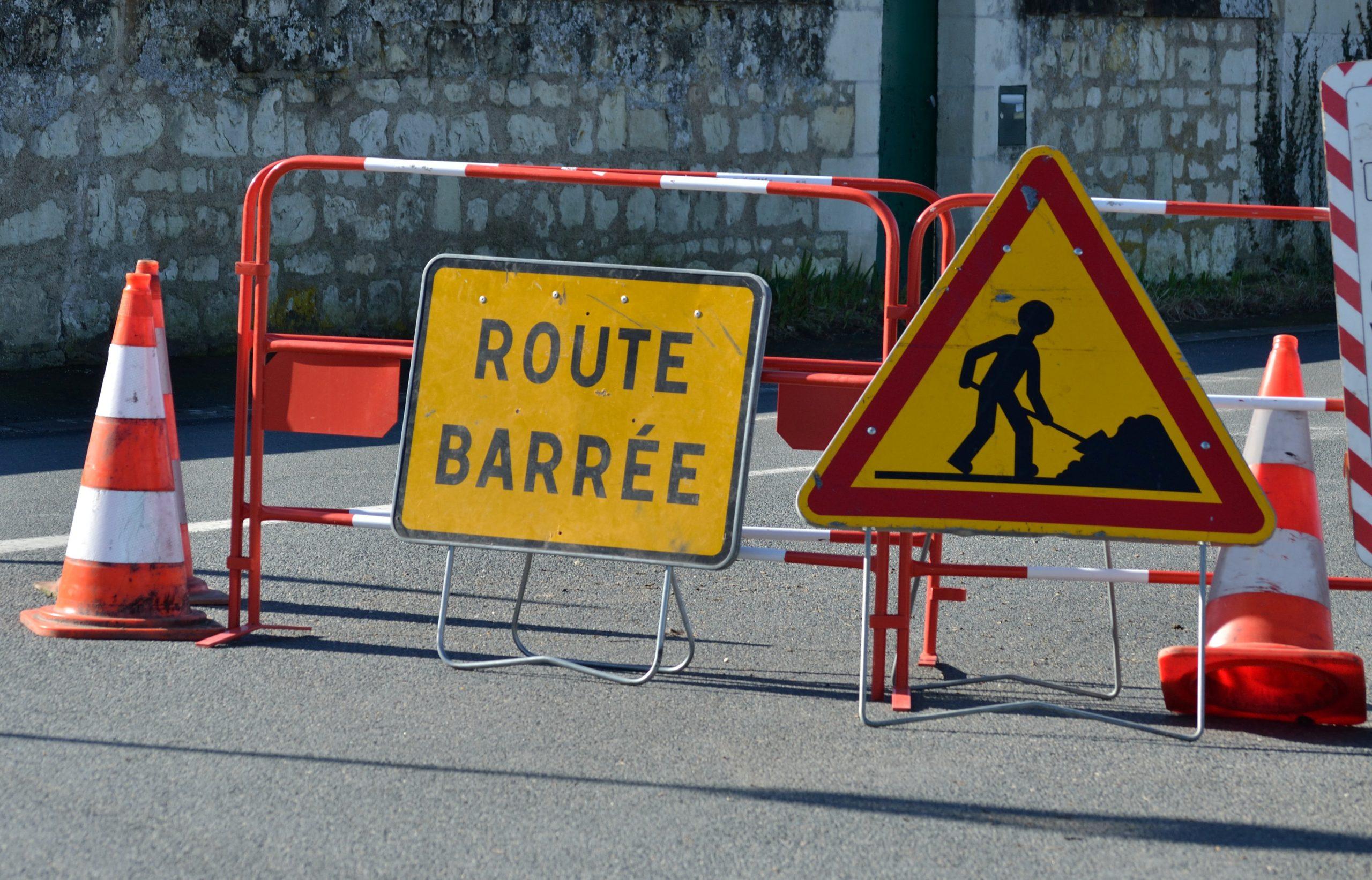 Circulation modifiée pour travaux au Chemin du Pioulier