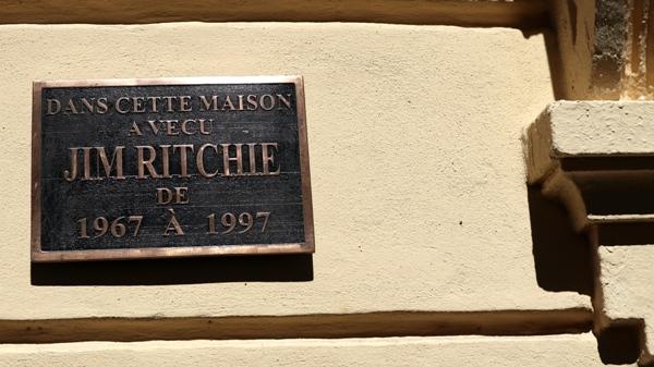 Vence rend hommage à Ritchie